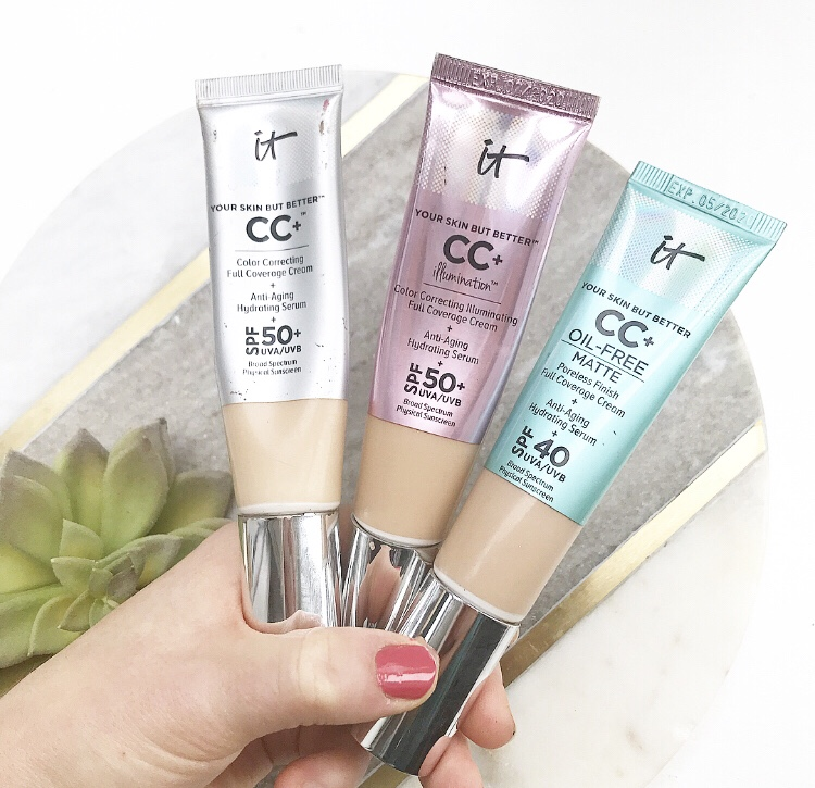 Which It Cosmetics CC Cream is Best for Dry Skin- Original, Matte, or  Illumination | Ingredient and Wear Comparison – the honest beauty review