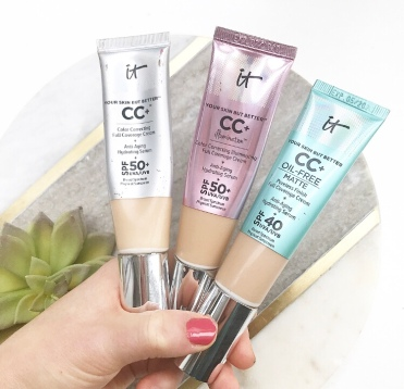 It Cosmetics Cc Cream Swatches The Honest Beauty Review